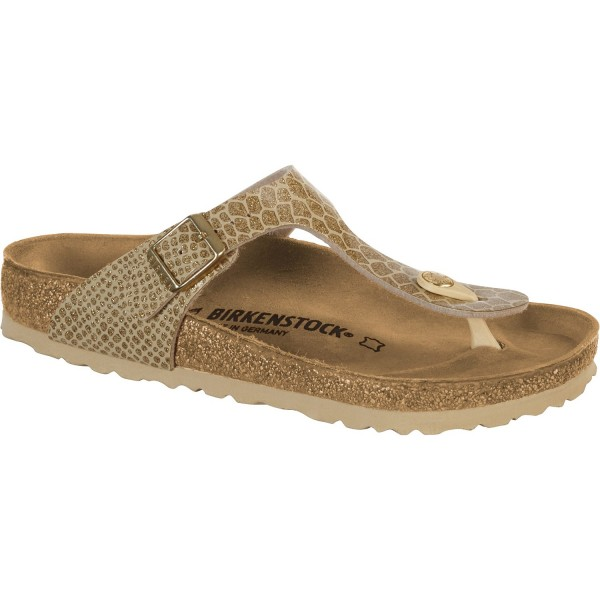 Birkenstock Gizeh 1011771 Normal Gold