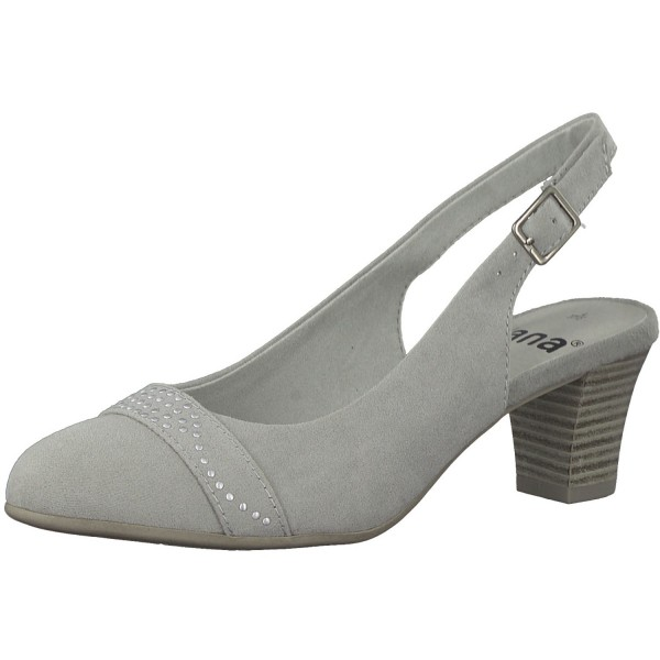 Jana Damen Pumps 8-8-29600-30/204 grau